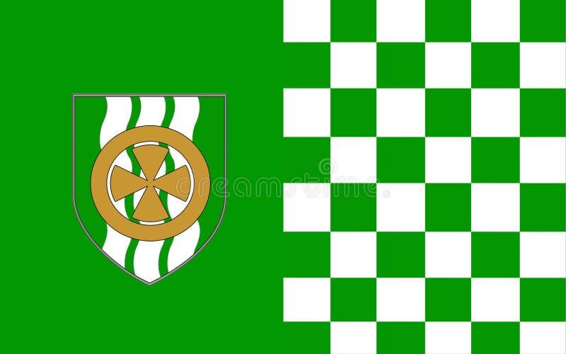 Флаг лимерика графства графство в Ирландии бесплатная иллюстрация