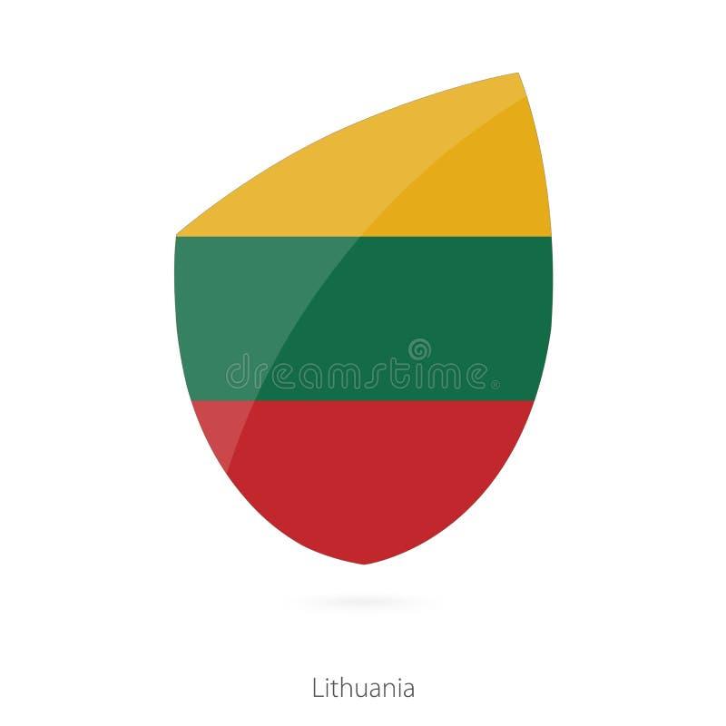 флаг Литва Литовский флаг рэгби бесплатная иллюстрация