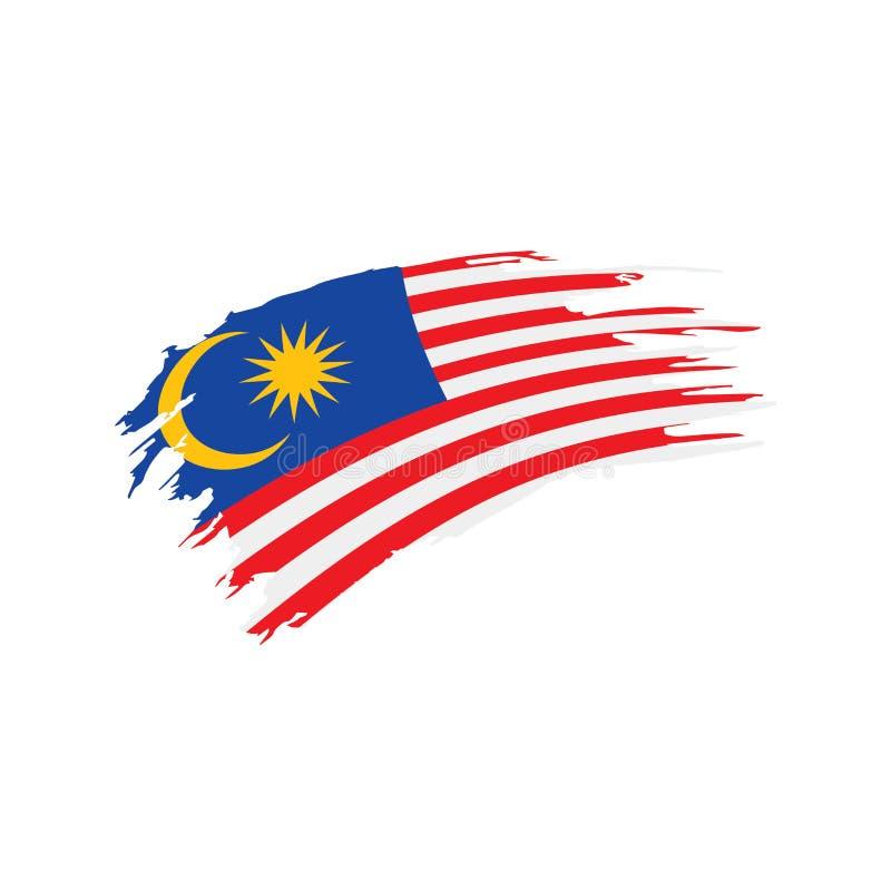 Флаг Малайзии, иллюстрация вектора иллюстрация штока