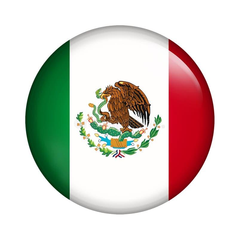 флаг Мексика иллюстрация вектора