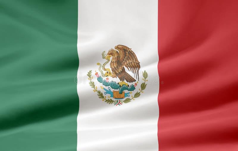 флаг Мексика бесплатная иллюстрация