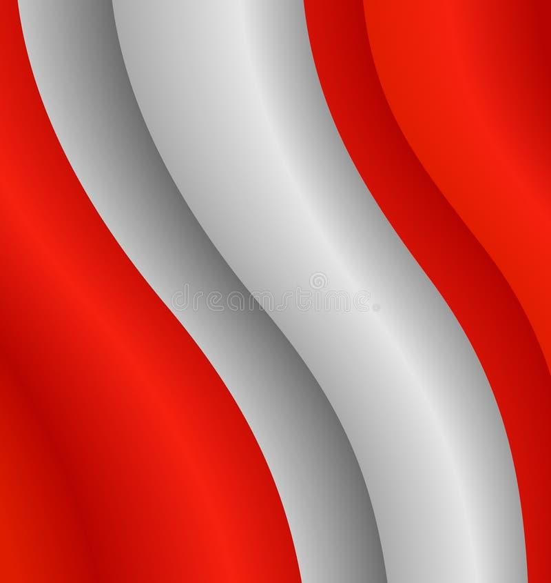 флаг Перу иллюстрация штока