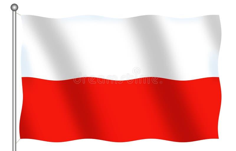 Download флаг Польша иллюстрация штока. иллюстрации насчитывающей заполированность - 1179996
