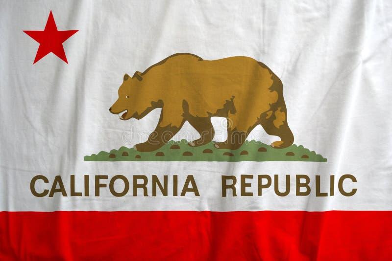 Флаг республики Калифорнии, США стоковые фотографии rf