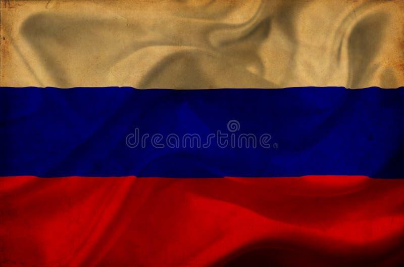 Флаг России развевая стоковые фото