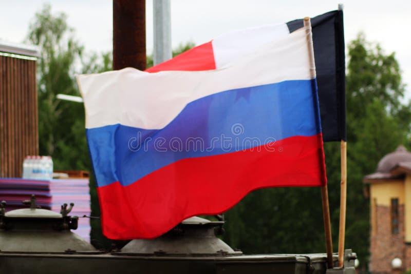 Флаг России, символ страны стоковые изображения