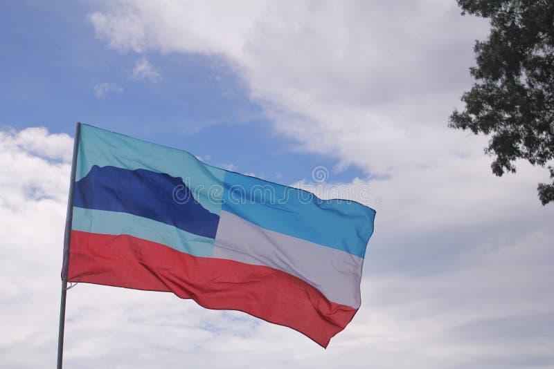 Флаг Сабаха стоковые изображения
