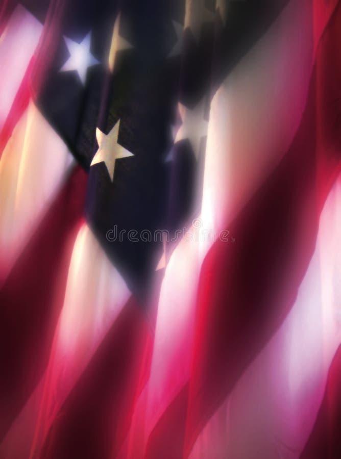 флаг светящий стоковое изображение rf