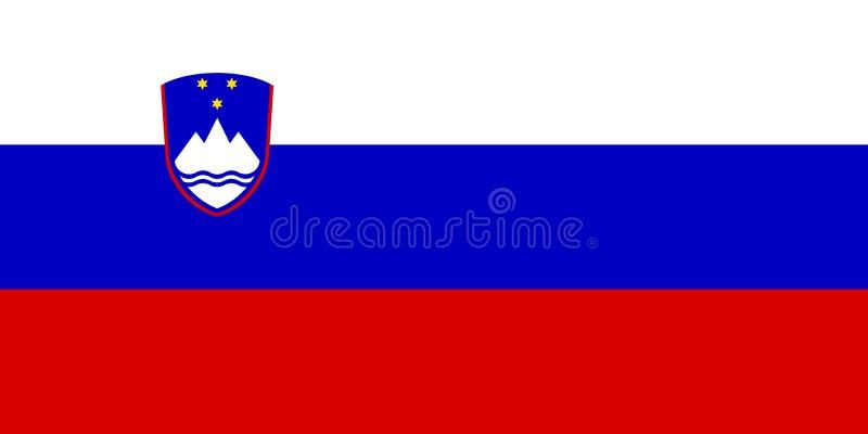 Флаг Словении стоковые изображения rf