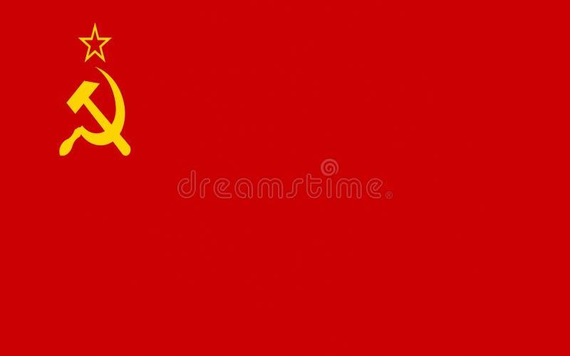 флаг Советский Союз стоковое изображение rf