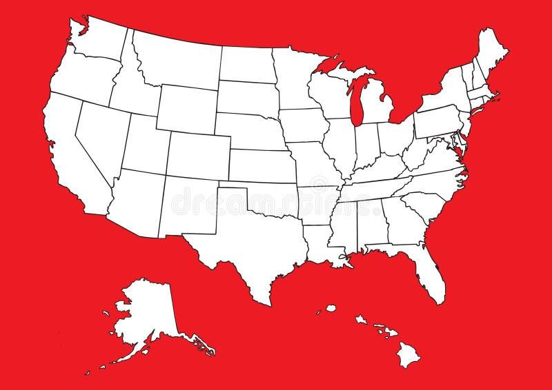флаг составляет карту мы бесплатная иллюстрация