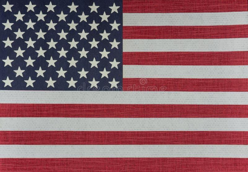 Флаг США Соединенных Штатов - EEUU стоковая фотография rf