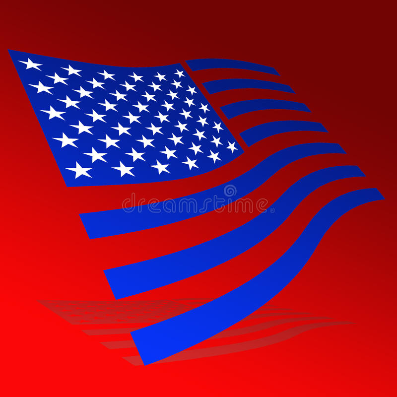 флаг США бесплатная иллюстрация