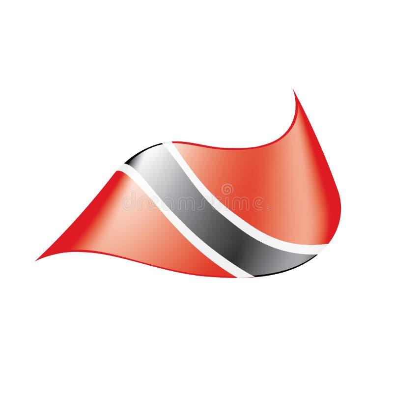Флаг Тринидад и Тобаго, иллюстрация вектора бесплатная иллюстрация