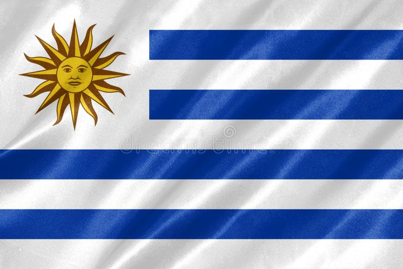 Флаг Уругвая иллюстрация штока