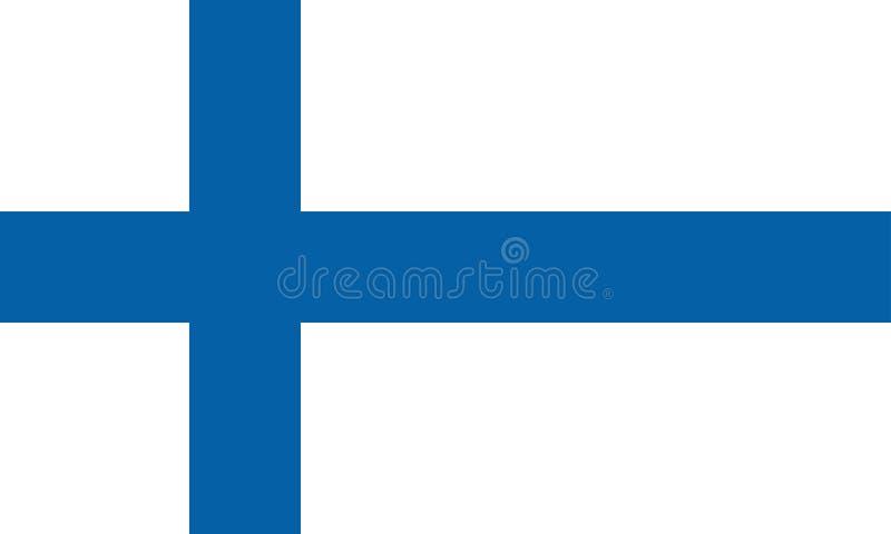 флаг Финляндии иллюстрация штока