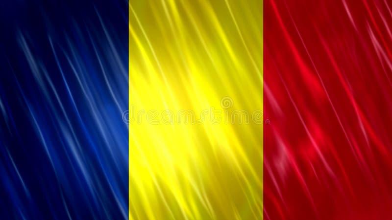 Флаг Чад бесплатная иллюстрация