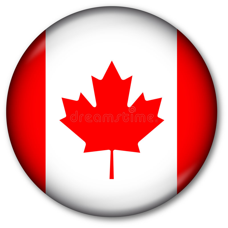 флаг чанадеца кнопки бесплатная иллюстрация