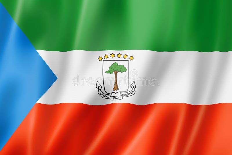 Флаг Экваториальной Гвинеи бесплатная иллюстрация