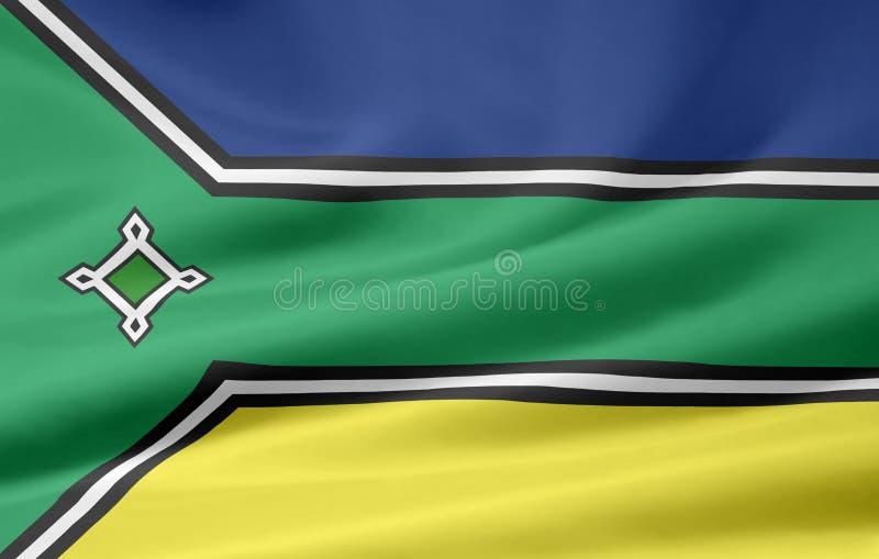 флаг amapa иллюстрация вектора