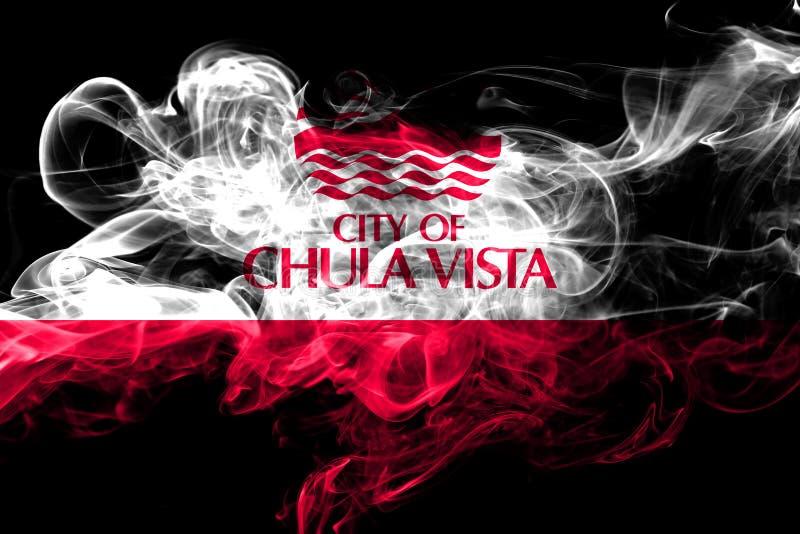 Флаг 2018 Chula Vista, Калифорнии красочный куря бесплатная иллюстрация