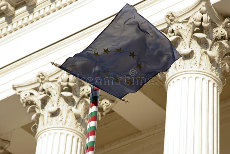 флаг eu стоковые изображения