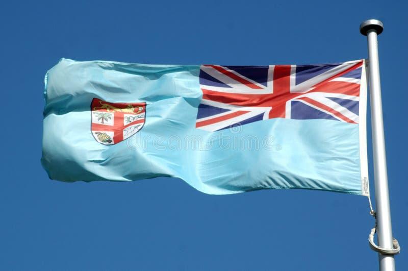 флаг fijian стоковое изображение rf