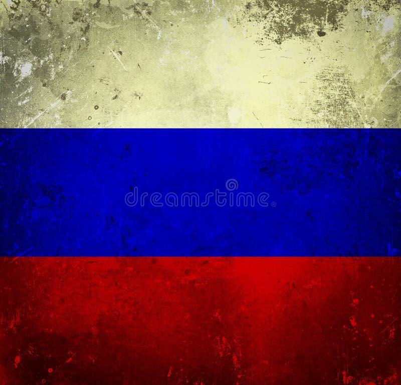 Флаг Grunge России стоковые фото