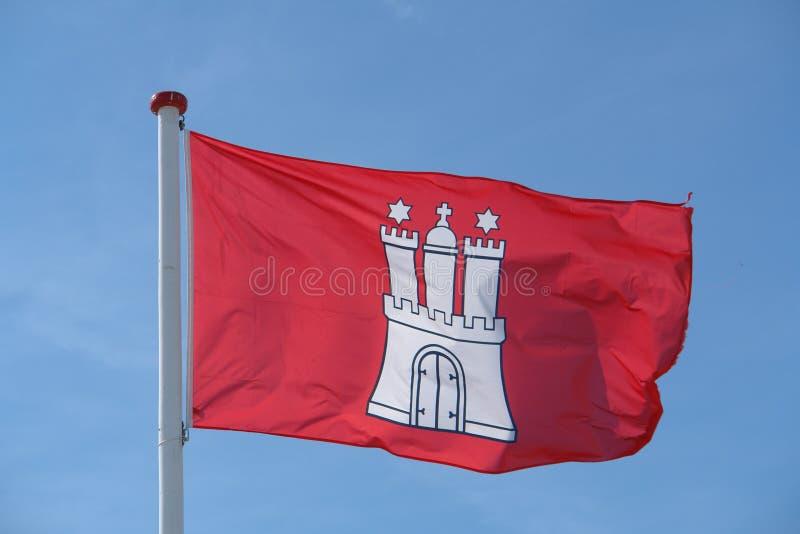 флаг hamburg стоковое фото rf
