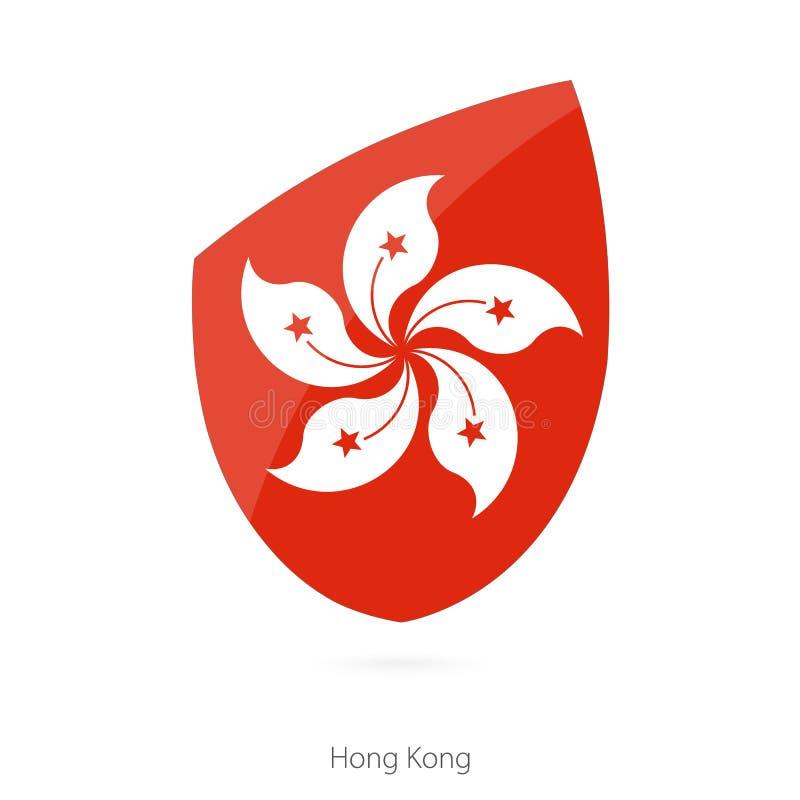 флаг Hong Kong иллюстрация вектора