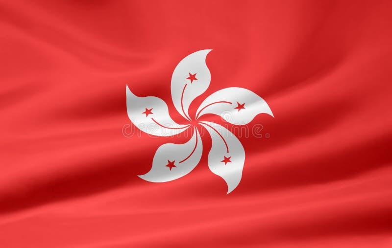флаг Hong Kong иллюстрация штока