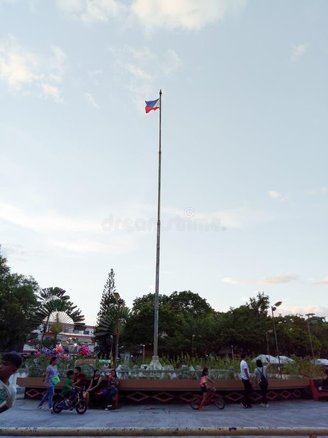 флаг philippine стоковое фото rf