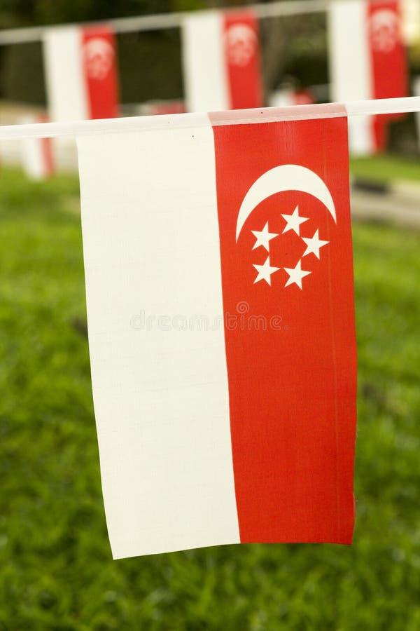 флаг singapore стоковое фото rf