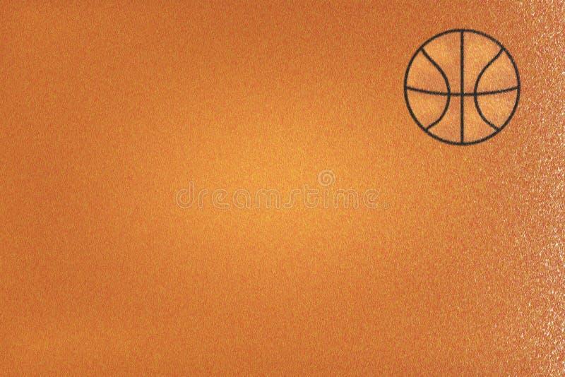 Фланель Брайна или ткань баскетбола, абстрактная предпосылка иллюстрация штока
