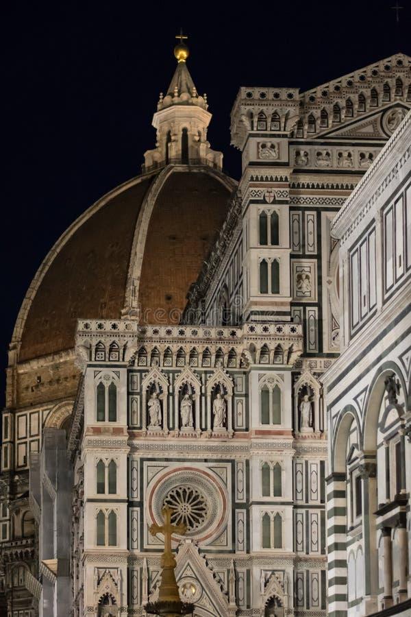 Флоренс, Италия - 23-ье апреля 2018: фасад di Santa Maria del Fiore Cattedrale стоковая фотография