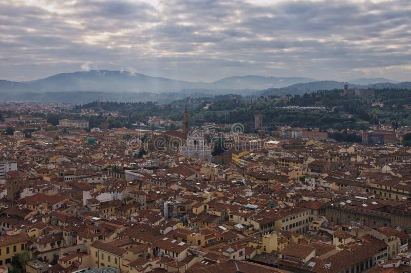 Флоренс осмотрело сверху стоковые изображения rf