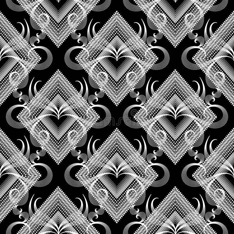 флористическая картина безшовная абстрактный вектор предпосылки Dott Grunge бесплатная иллюстрация
