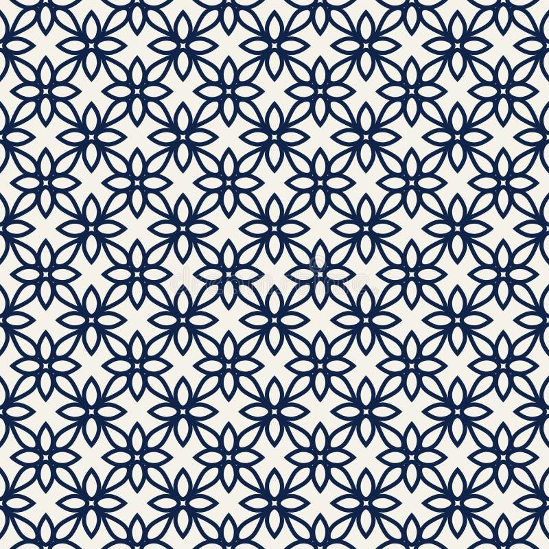 Флористическая картина blockprint иллюстрация штока