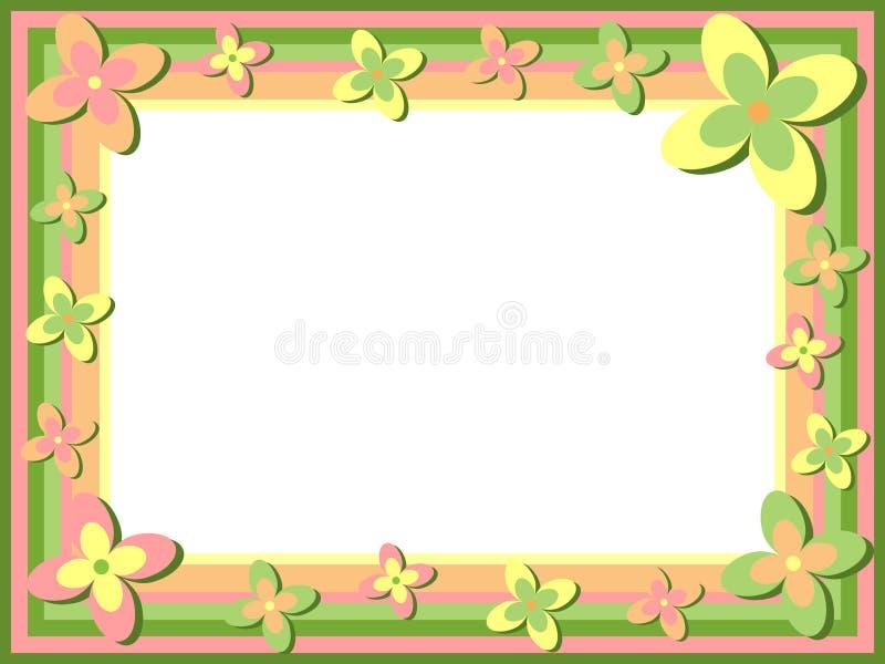 Download флористическая рамка ретро иллюстрация вектора. иллюстрации насчитывающей художничества - 6856698