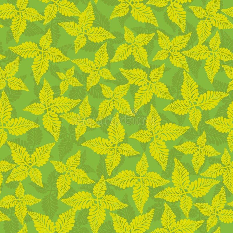 Флористический винтажный дизайн иллюстрация штока
