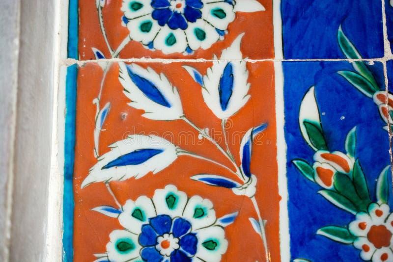 Флористический пример картины искусства времени тахты стоковое фото rf