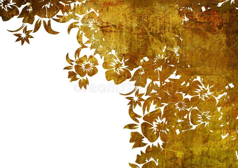 флористический тип рамки иллюстрация штока