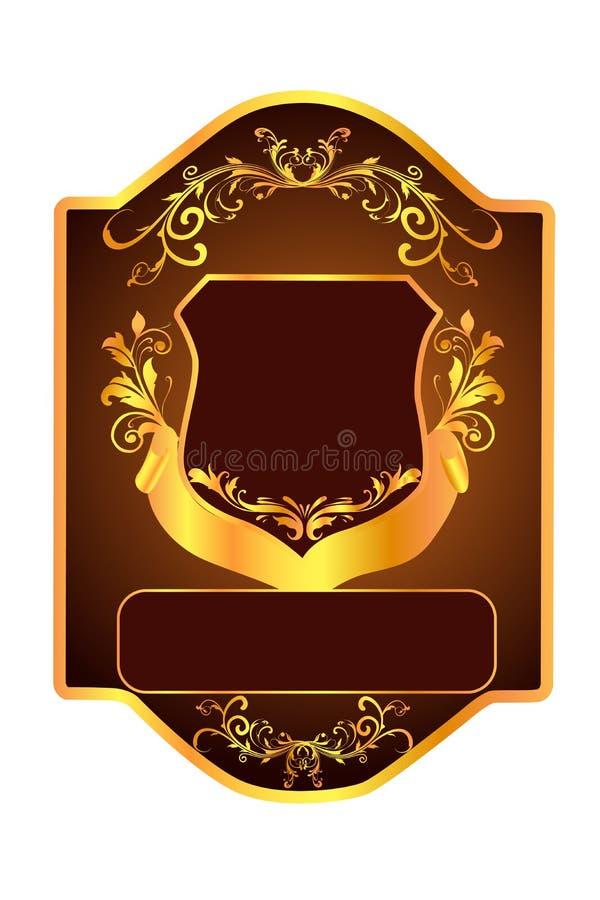 флористический экран иллюстрация вектора