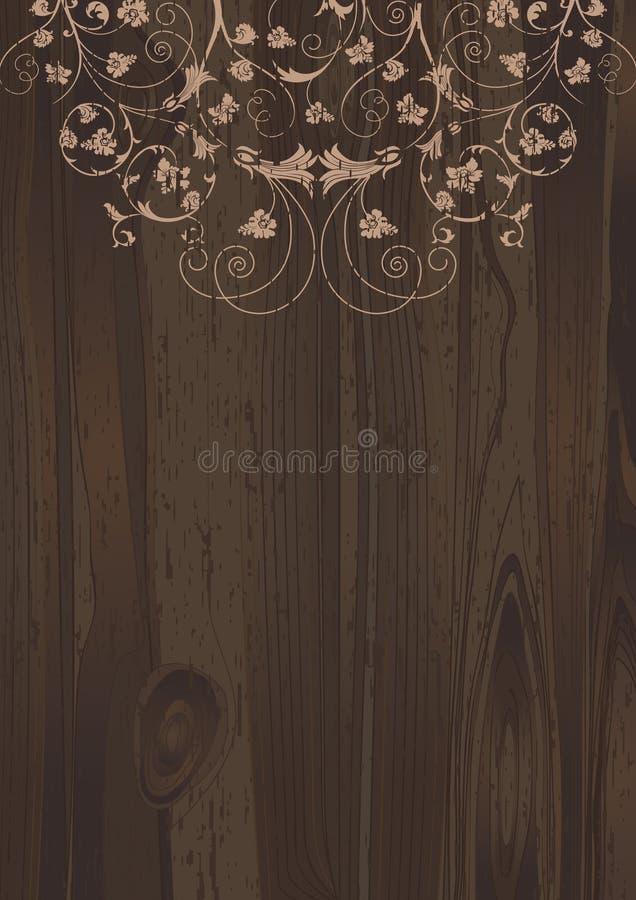 флористическое деревянное бесплатная иллюстрация