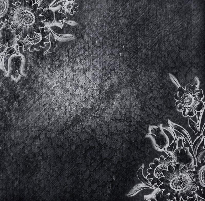 флористическое металлопластинчатое иллюстрация штока