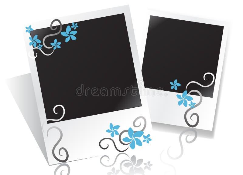 флористическое фото рамки бесплатная иллюстрация