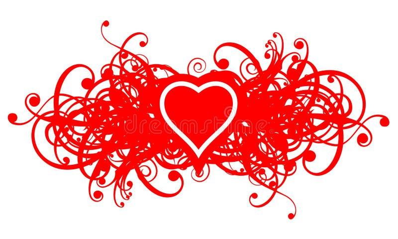 флористическое heart02 бесплатная иллюстрация