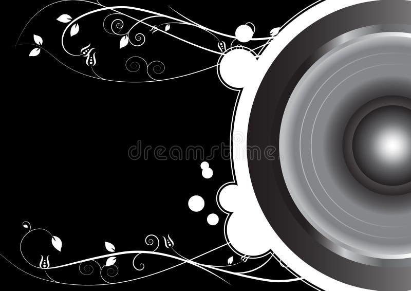 Флористическо от диктора иллюстрация вектора