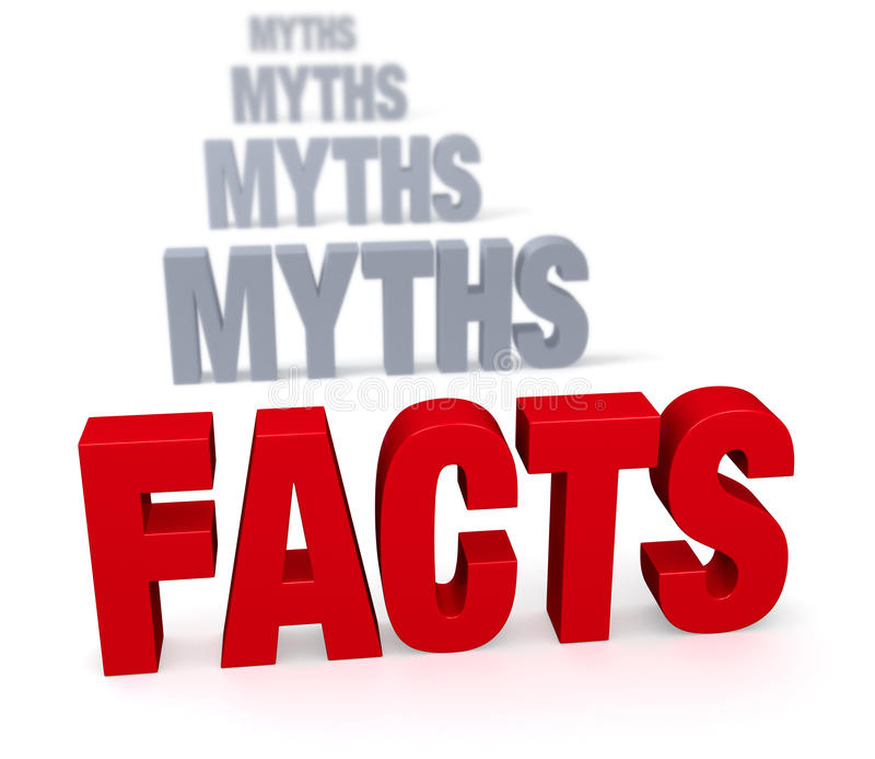 Фокус на фактах иллюстрация штока