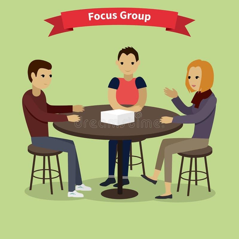 фокус принципиальной схемы цифрово произвел изображение res группы высокое иллюстрация штока